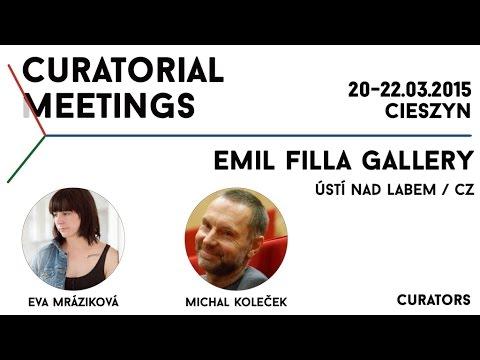 Curatorial Meetings / Emil Filla Gallery 15 // CZ