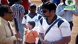 Dr. Saif.H.Naqvi being interviewed in Mumbai '10