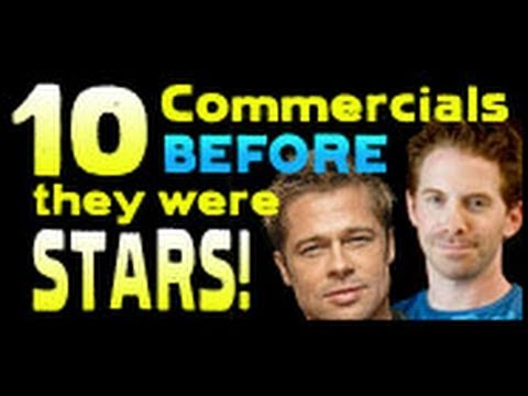 Before fame, many actors find work filming commercials. Unfortunately, we found a few of the funniest ones and put them together. http://www.liquidgeneration...