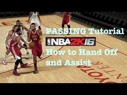NBA 2K16 Tips and Tricks Passing Tutorial How to Play 2K16 Controls. NBA 2K16 Review Tutorial #1