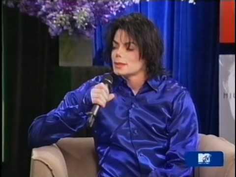 Michael Jackson MTV TRL Interview 2001