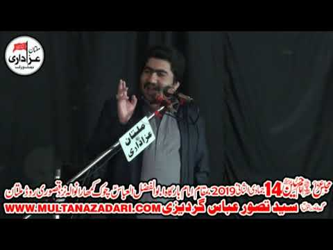 Zakir Muhammad Ali Gardezi I Majlis 20 Feb 2019 I Multan
