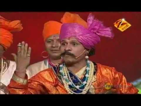 Marathi Paul Padte Pudhe Grand Finale June 05 '11 - Shahir Devanand Mali video