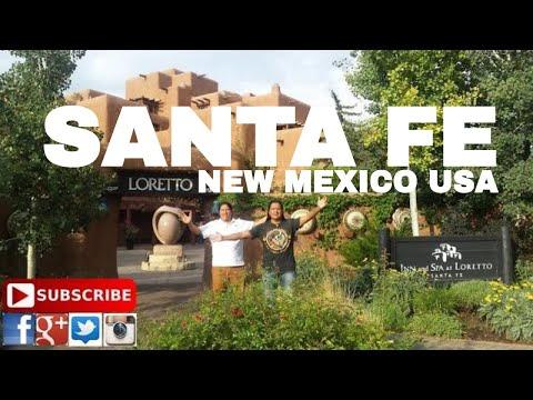 One day at Santa Fe , NM