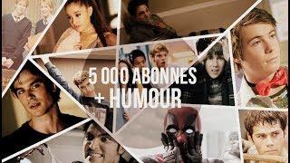5 000 ABONNÉS │ MERCI ! (+humour)
