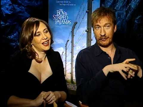 The Boy in the Striped Pajamas - Exclusive: Vera Farmiga and David Thewlis