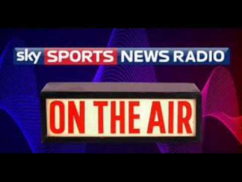 BLAZING SADDLES Ian Brindle Sky Sports News Radio