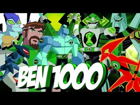ESPECIAL Ben 10000 TODOS LOS ALIENS   BIOMNITRIX PARTE 1   FRIO10MIL  rizegreymon22 