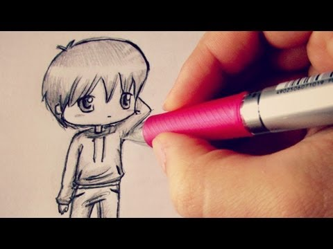❤Chibi Boy Tutorial / Come disegnare un personaggio chibi❤