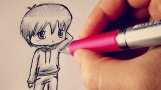 ?Chibi Boy Tutorial / Come disegnare un personaggio chibi?