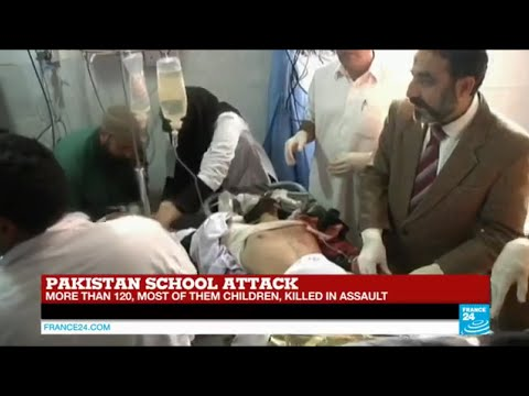 Pakistan school attack: more than 130 dead in Taliban attack, most of them children - TALIBAN