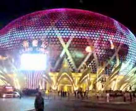 Spectacular Lights Grand Lisboa Macau Video