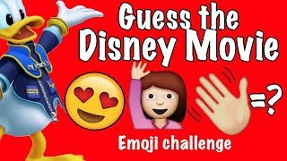 Can You Guess The Disney Movie By These Emojis ?