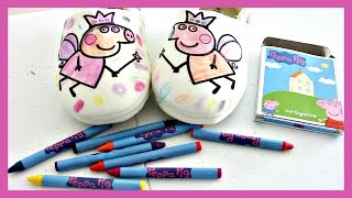 PEPPA PIG COLOURING SLIPPERS