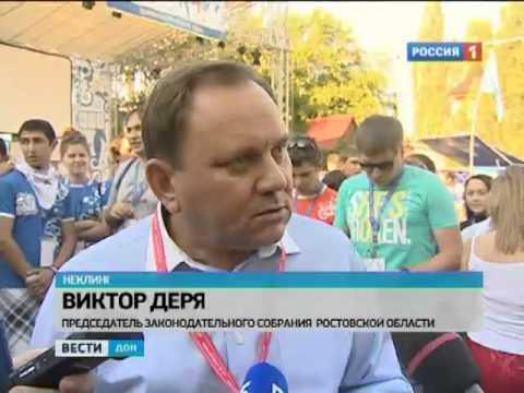 «Ростов 2012» посетил донской депутат Виктор Дерябкин