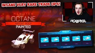 Bringing Very Rare TRADE UPS Back In The Most INSANE Way Possible! | Rocket League Trade Ups!