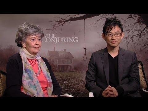 Lorraine Warren & James Wan - The Conjuring Interview HD