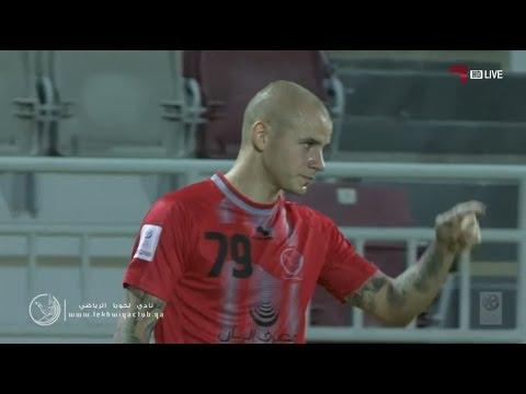 لخويا 2-0 الوكرة ( أهداف لخويا Lekhwiya Goals )