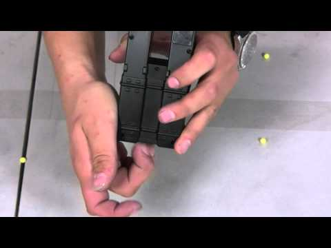 HitGuns.com - Airsoft Accessories and Use - CM-023 KP5 Airsoft Gun Magazine Tutorial