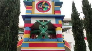 Legoland Windsor - Knights themed room @ Legoland Hotel UK