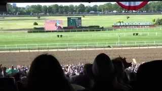 American Pharoah Wins The Belmont & Horse Racing