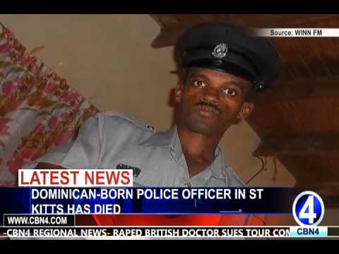 2  DOMINICAN BORN POLICE OFFICER IN ST KITTS HAS DIED