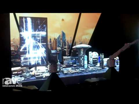 InfoComm 2015: EPSON's Image Mapping on a Moving Surface in the Epson Booth (using EPSON Robots)
