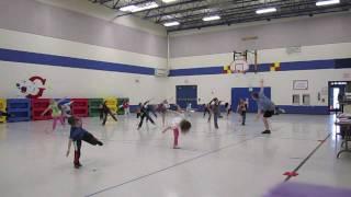Kindergarten Dance: Cha Cha Slide - Physical Education Class