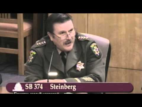 CA SB 374 for 2013 Part 07 - Witnesses in Opposition El Dorado County Sheriff