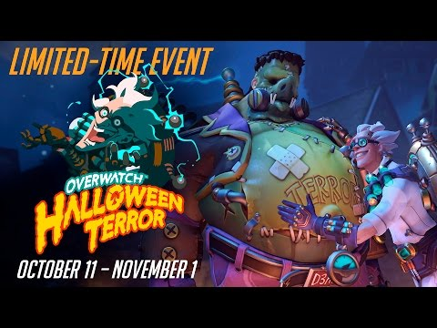 [NEW SEASONAL EVENT] Welcome To Overwatch Halloween Terror!