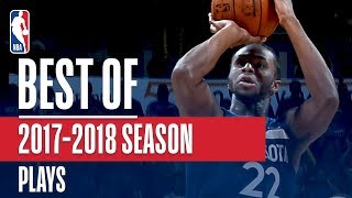 Best Plays From The 2017-2018 NBA Season (Westbrook, Kyrie, Joel Embiid, and More!)