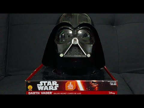 Darth Vader Rubie's Costumes Two-Piece Helmet Review