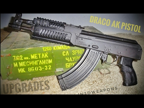 Draco-c AK-47 Pistol - Upgrades and Shooting