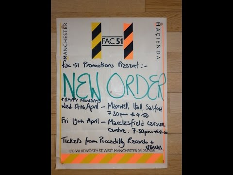 New Order Macclesfield Leisure Centre, 1985