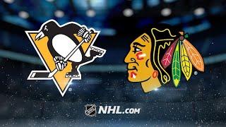 Saad, Blackhawks dominate Penguins, 10-1