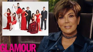 Kris Jenner Explains The Kardashian's Crazy Christmas Cards | Glamour