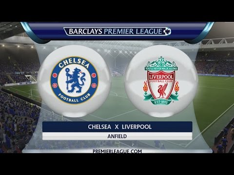FIFA 15 DEMO - Chelsea x Liverpool [PS4 - PT/BR]