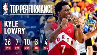 Kyle Lowry Goes For 26 & 10 In Game 6 | 2019 NBA Finals