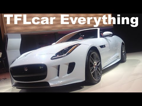 2016 Jaguar F-type Awd, New Manual Tranny: Everything You Ever Wanted To Know video