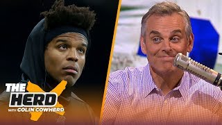Colin Cowherd: NFL Top 100 proves Cam Newton is overrated, talks Zeke's holdout | NFL | THE HERD
