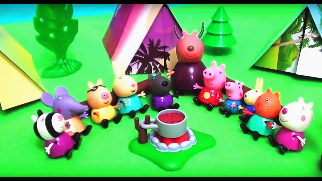 Свинка Пеппа все серии смотреть мультфильм онлайн