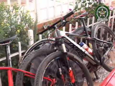 Cayó banda delincuencial que hurtaba bicicletas de alta gama en Bogotá