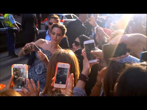 Brad Pitt and Angelina Jolie, Unbroken premiere at Sydney's State Theatre!!!