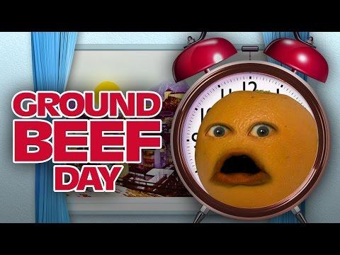 Annoying Orange - GROUND BEEF DAY (feat. Eric Schwartz & Bobjenz)