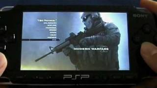 PSP: Call of Duty_ Modern Warfare 2 Gameplay FAKE?!