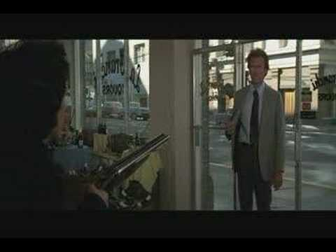 "Great scene from the third Dirty Harry film called, ""The Enforcer."" 1976."