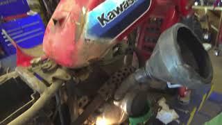 Kawasaki KLT 110 ... Will it run???