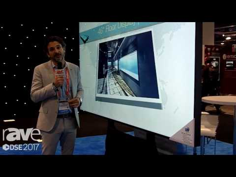 DSE 2017: GDS Displays Exhibits 98″ 4K Lite Plus Optically Bonded Display