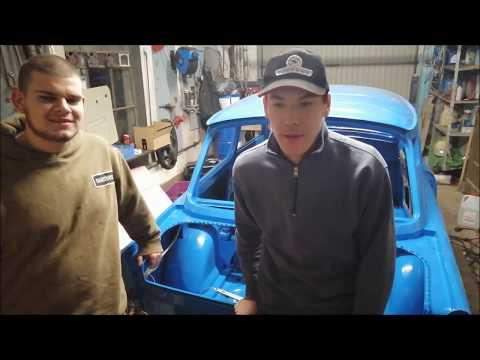 Trabant 601 s Scheiben Einbauen