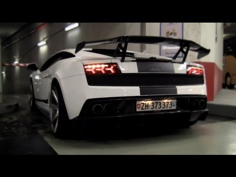 700HP Lamborghini DMC Gallardo LP560-4 CRAZY Sounds in Tunnel!! - 1080p HD